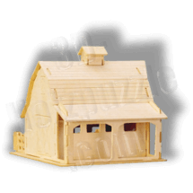 Bauernhof-Stall 3D Holzpuzzle ab 5,63 EUR