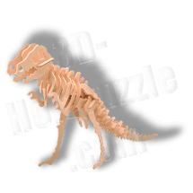 Dinosaurier 3D Holzpuzzle