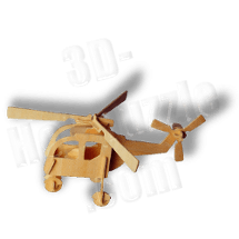 Helicopter 3D Holzpuzzle ab 3,38 EUR
