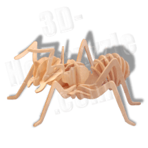 Ameise 3D Holzpuzzle ab 3,38 EUR