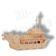 Drachenboot China 3D Holzpuzzle ab 8,55 EUR