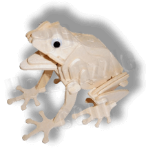 Frosch 3D Holzpuzzle ab 3,38 EUR